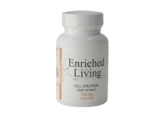 Enriched Living Soft gels Full Spectrum Hemp CBD Extract