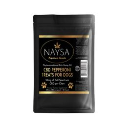NAYSA CBD Pepperoni Treats for Dogs 300mg