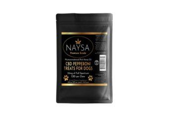 NAYSA CBD Pepperoni Treats for Dogs 300mg