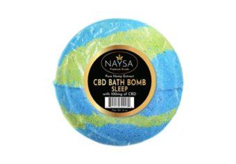 NAYSA CBD Sleep Bath Bomb