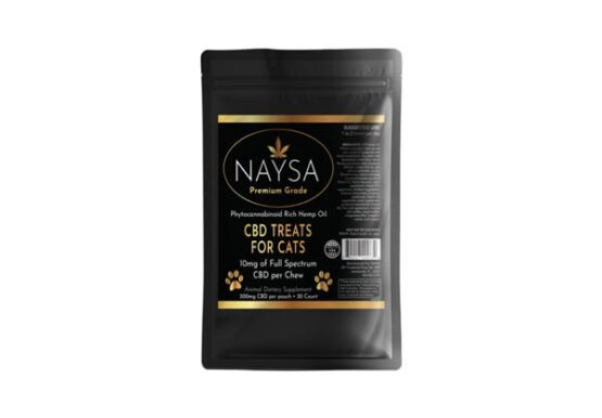 NAYSA CBD Treats for Cats 300mg