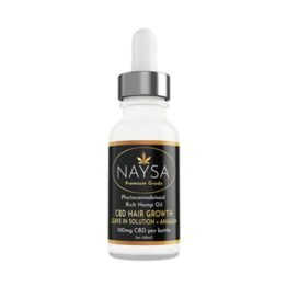 NAYSA CBD Hair Growth Leave In + Anagain 100mg