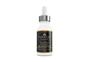 NAYSA CBD Hair Growth Leave In + Anagain 100mg