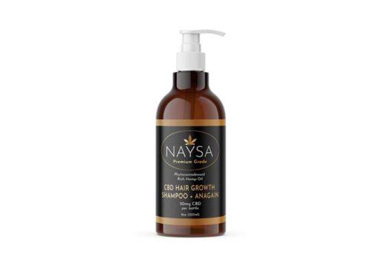 NAYSA CBD Hair Growth Shampoo