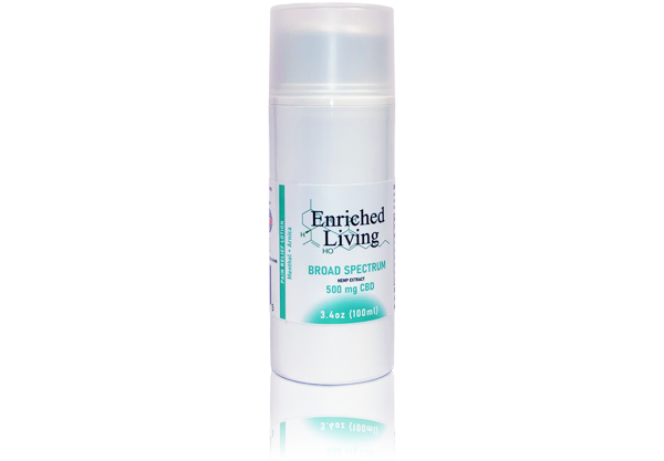Enriched Living Pain Relief Lotion - 500mg CBD